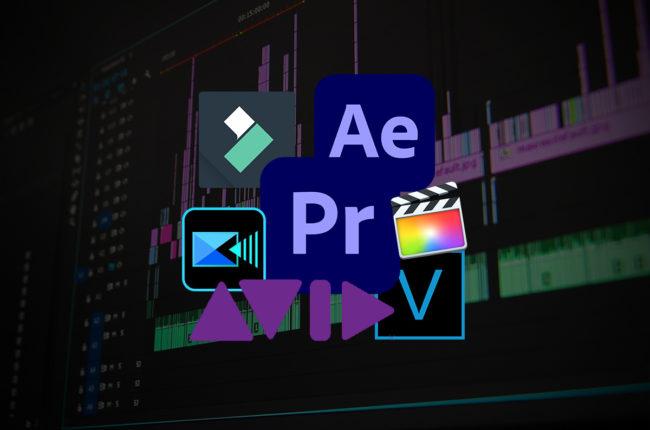 Les logiciels payants pour du montage vidéo